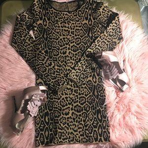 BCBG leopard dress 👗✨✨